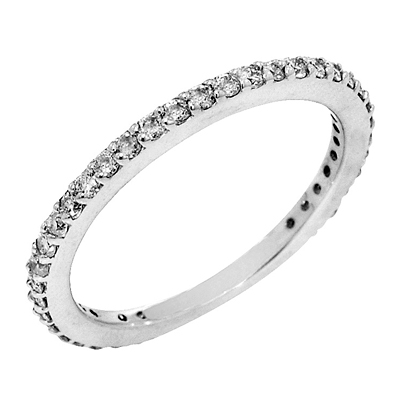 View 14K White  or  Yellow  Gold<BR>  Diamond Ring
